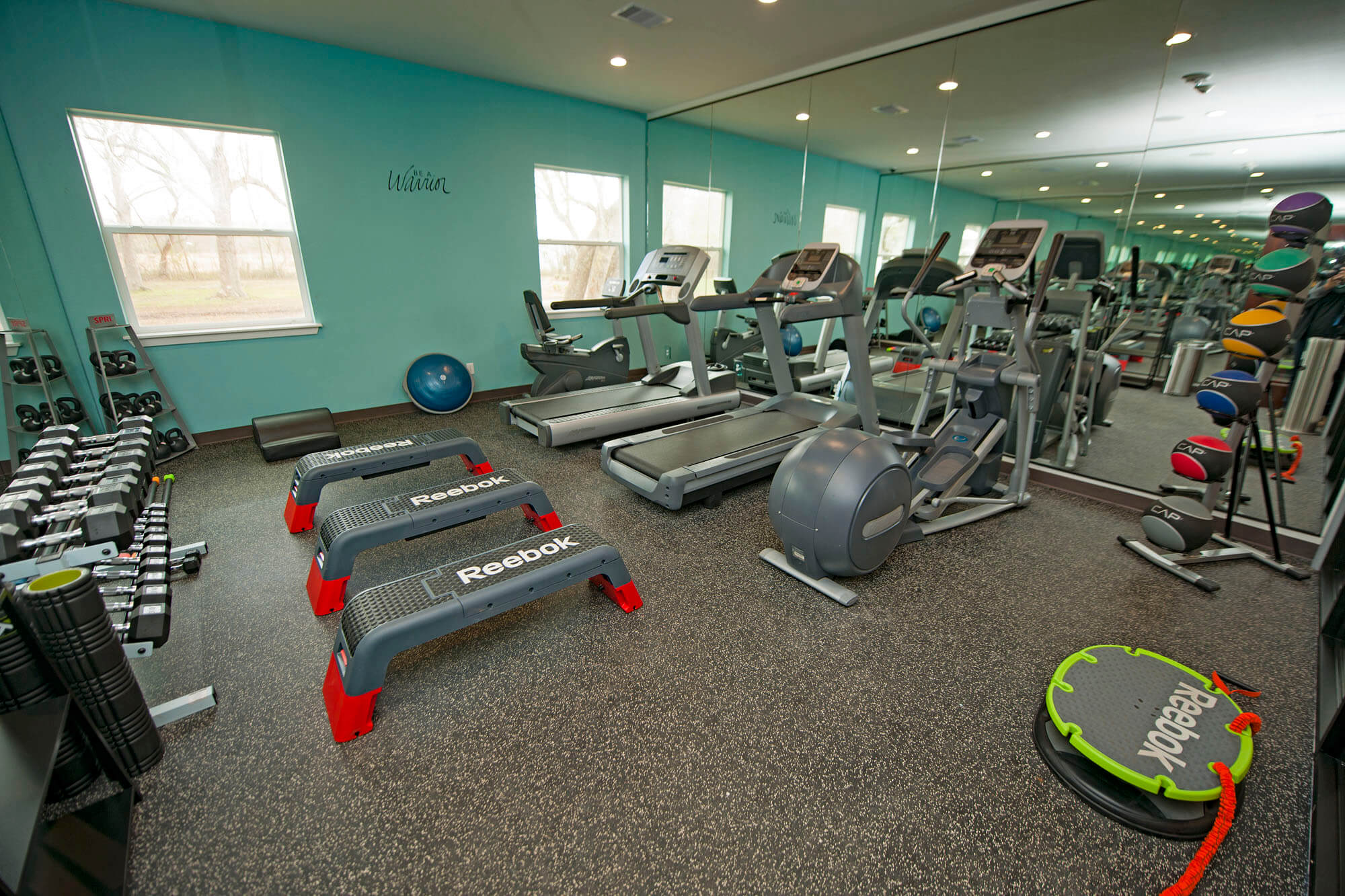 Serenity Light Recovery fitness room